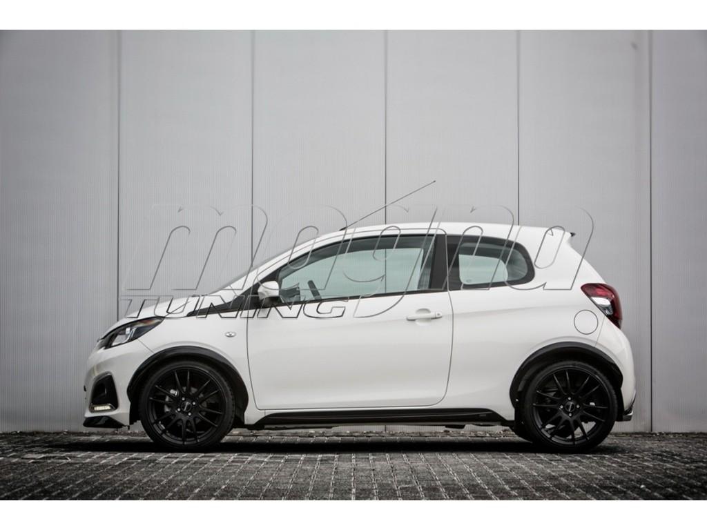 Peugeot 108 Extensii Aripi Mystic