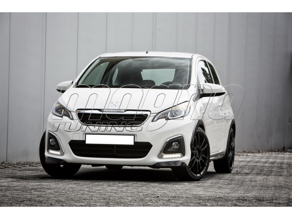 Peugeot 108 Extensii Bara Fata Mystic