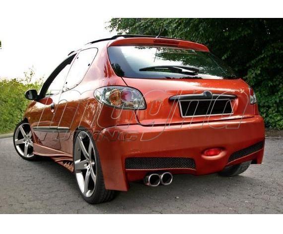 Peugeot 206 Bara Spate Aggressive