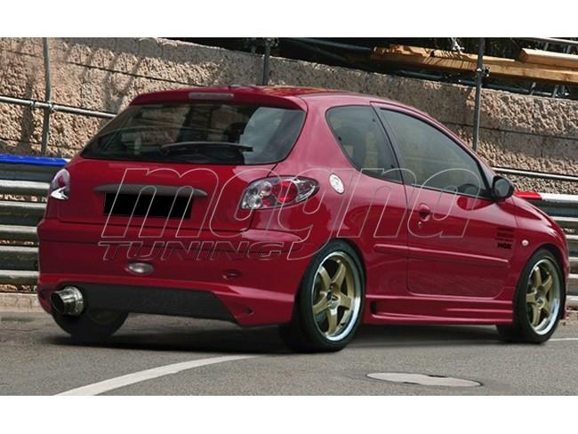 Peugeot 206 Bara Spate GhostRider