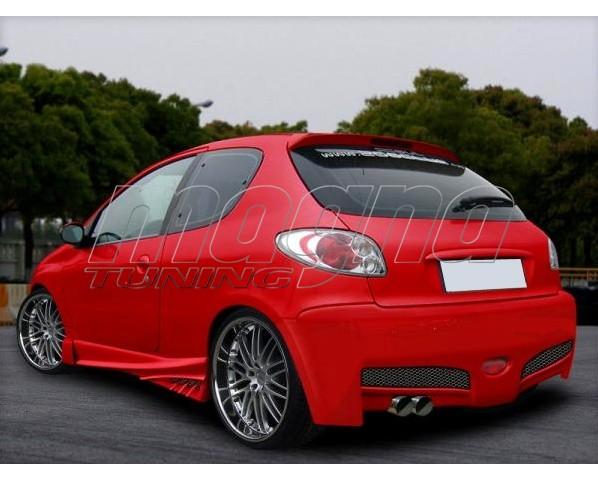 Peugeot 206 Bara Spate H-Design