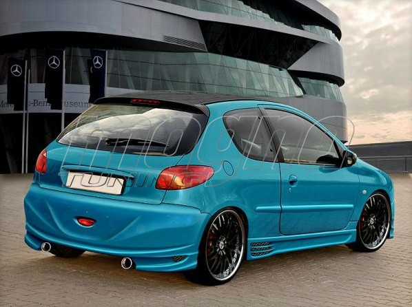 Peugeot 206 Bara Spate Storm