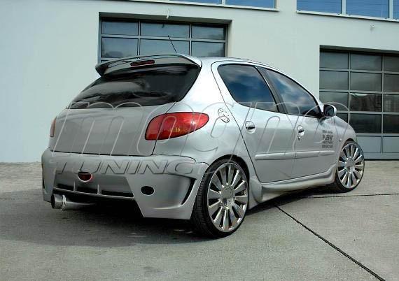 Peugeot 206 Bara Spate Street