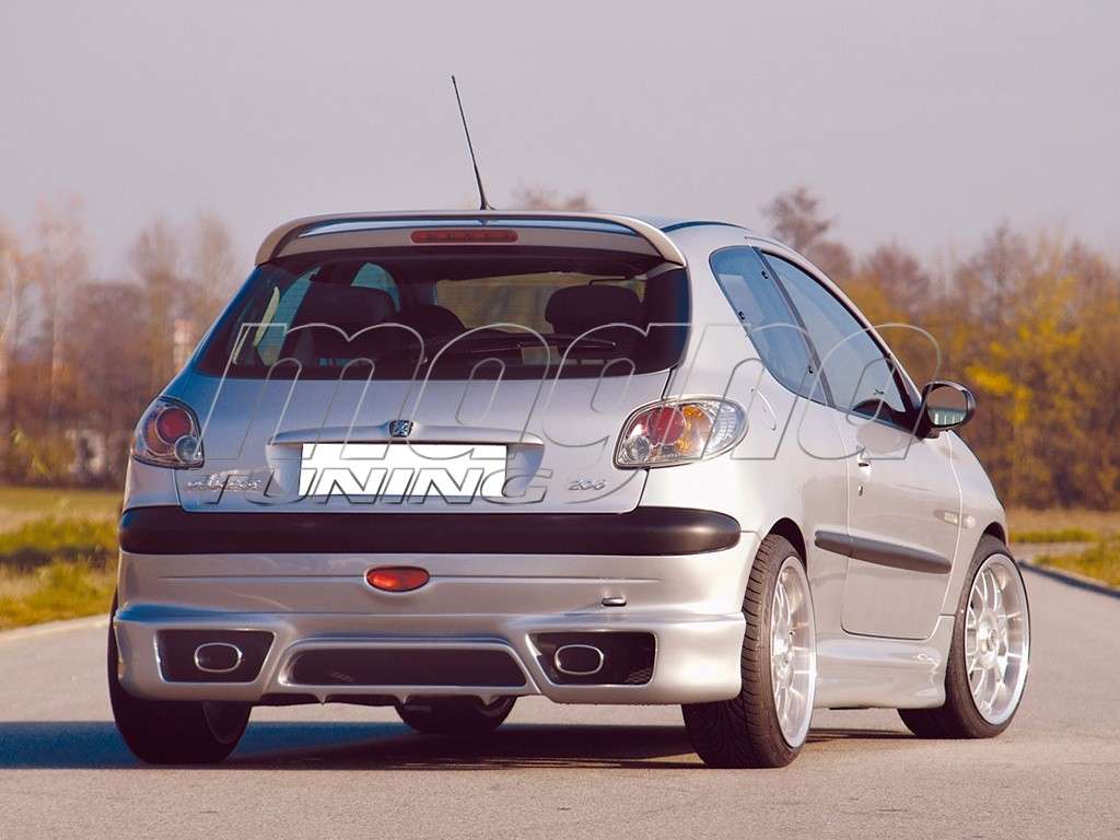 Peugeot 206 Body Kit Recto