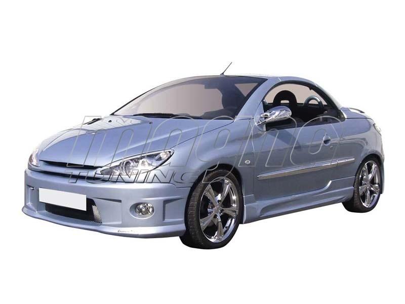 Peugeot 206 CC Bara Fata Beretta