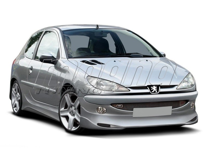 Peugeot 206 Extensie Bara Fata J-Style