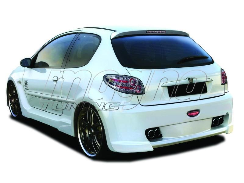 Peugeot 206 Extensii Aripi Spate X-Tech Wide