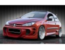 Peugeot 206 Extreme Elso Spoiler