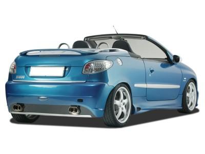 Peugeot 206 GTI Heckstossstange