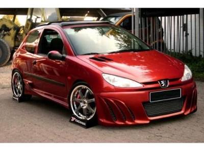 Peugeot 206 H-Design Front Bumper