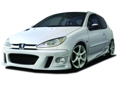 Peugeot 206 Maximus Side Skirts