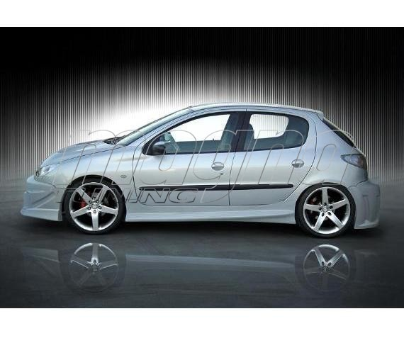 Polo5 Polo Hatchback 5 Door 5th Generation Polo: Peugeot 206 Mercury Side Skirts