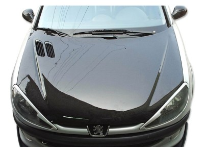 Peugeot 206 OEM Carbon Fiber Hood