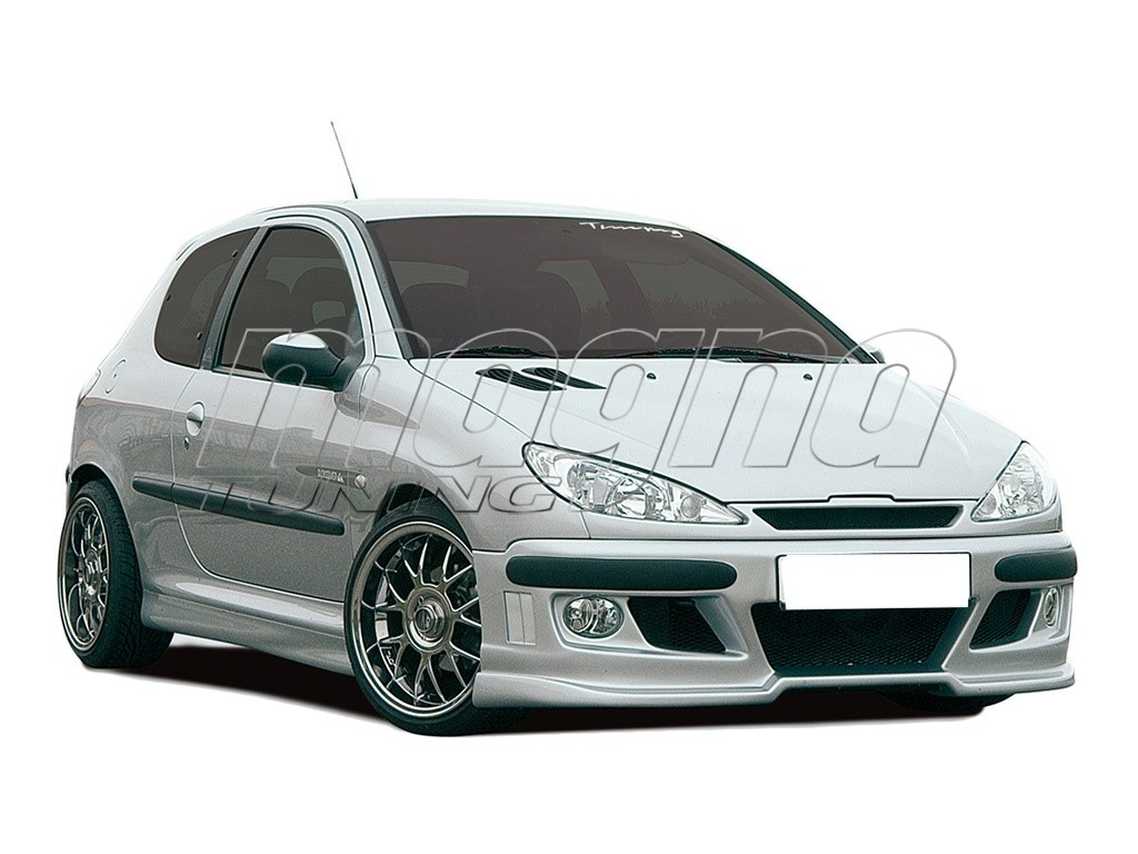 peugeot 206 recto body kit. Black Bedroom Furniture Sets. Home Design Ideas