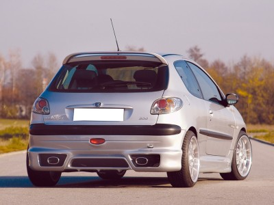 Peugeot 206 Recto Rear Bumper Extension