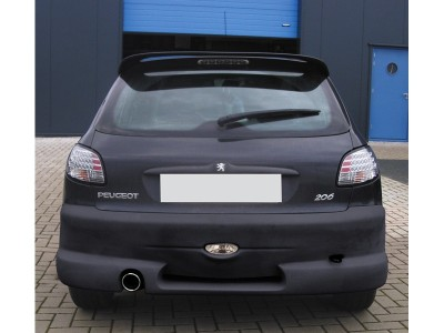 Peugeot 206 S-Look Rear Bumper