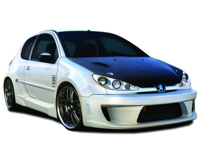 Peugeot 206 X-Tech Wide Front Wheel Arch Extensions