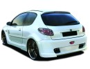 Peugeot 206 X-Tech Wide Rear Wheel Arch Extension
