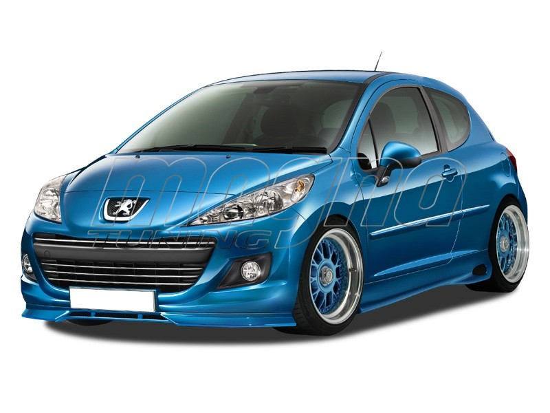 Peugeot 207 Facelift Extensie Bara Fata R-Style
