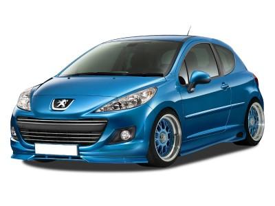 Peugeot 207 Facelift R-Style Front Bumper Extension