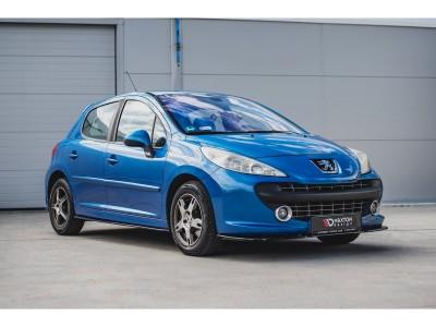 Peugeot 207 Matrix Front Bumper Extension