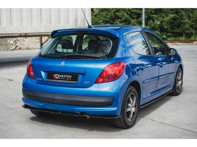 Peugeot 207 Matrix Rear Bumper Extension
