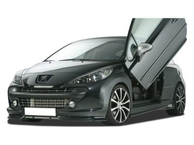 Peugeot 207 R-Style Front Bumper Extension