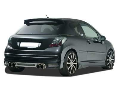 Peugeot 207 R-Style Rear Bumper Extension