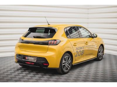 Peugeot 208 MK2 MX Rear Bumper Extension