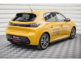 Peugeot 208 MK2 Matrix Rear Bumper Extension