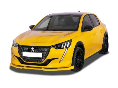 Peugeot 208 MK2 Verus-X Front Bumper Extension