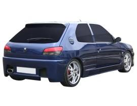 Peugeot 306 Bara Spate Vector