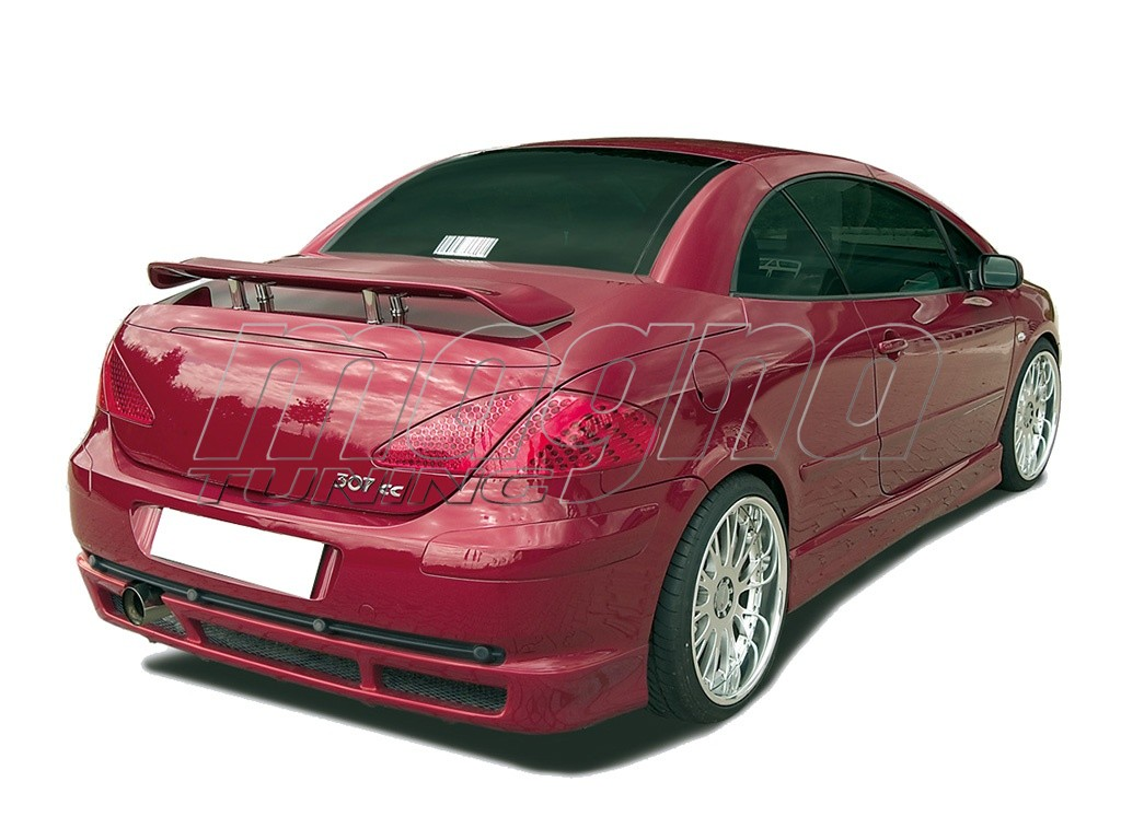 peugeot 307 cc rx rear bumper extension. Black Bedroom Furniture Sets. Home Design Ideas