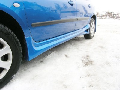 Peugeot 307 Shooter Side Skirts