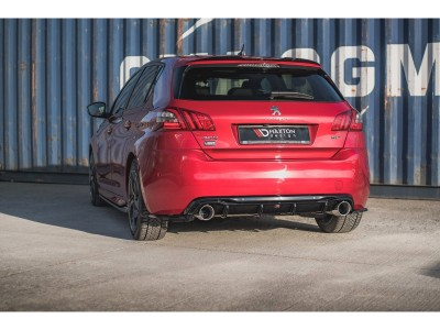 Peugeot 308 MK2 GT Meteor2 Rear Bumper Extension