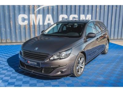 Peugeot 308 MK2 Matrix Front Bumper Extension