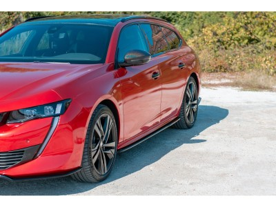 Peugeot 508 MK2 MX Side Skirt Extensions