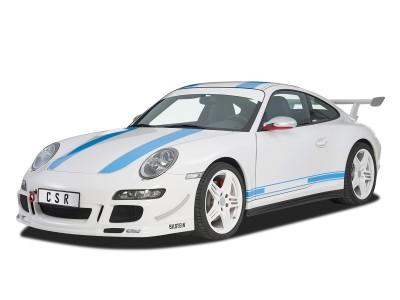 Porsche 911 / 997 Cyber Side Skirts
