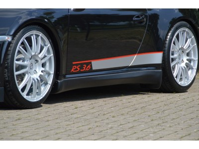 Porsche 911 / 997 Turbo I-Line Side Skirts