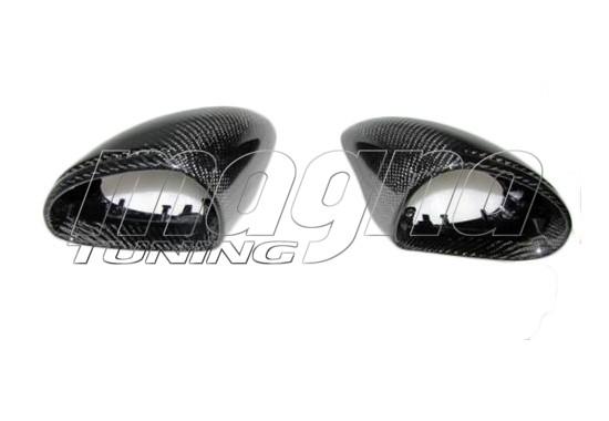 Porsche 911 991 Capace Oglinzi Supreme Fibra De Carbon