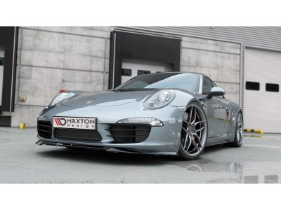 Porsche 911 991 MX Front Bumper Extension