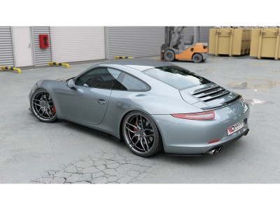 Porsche 911 991 MX Rear Bumper Extensions