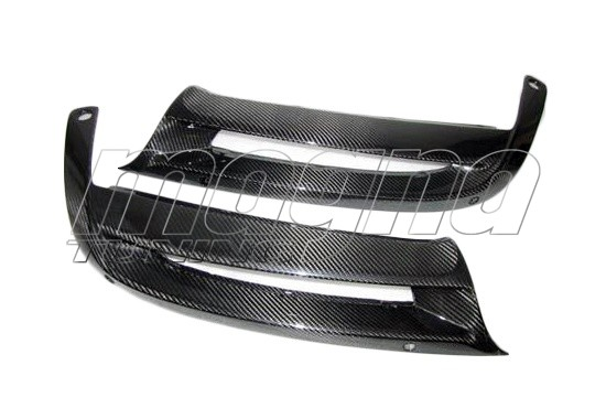 Porsche Boxster 981 Extensii Bara Spate Supreme Fibra De Carbon