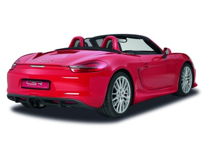 Porsche Boxster 981 NewLine Rear Bumper Extension