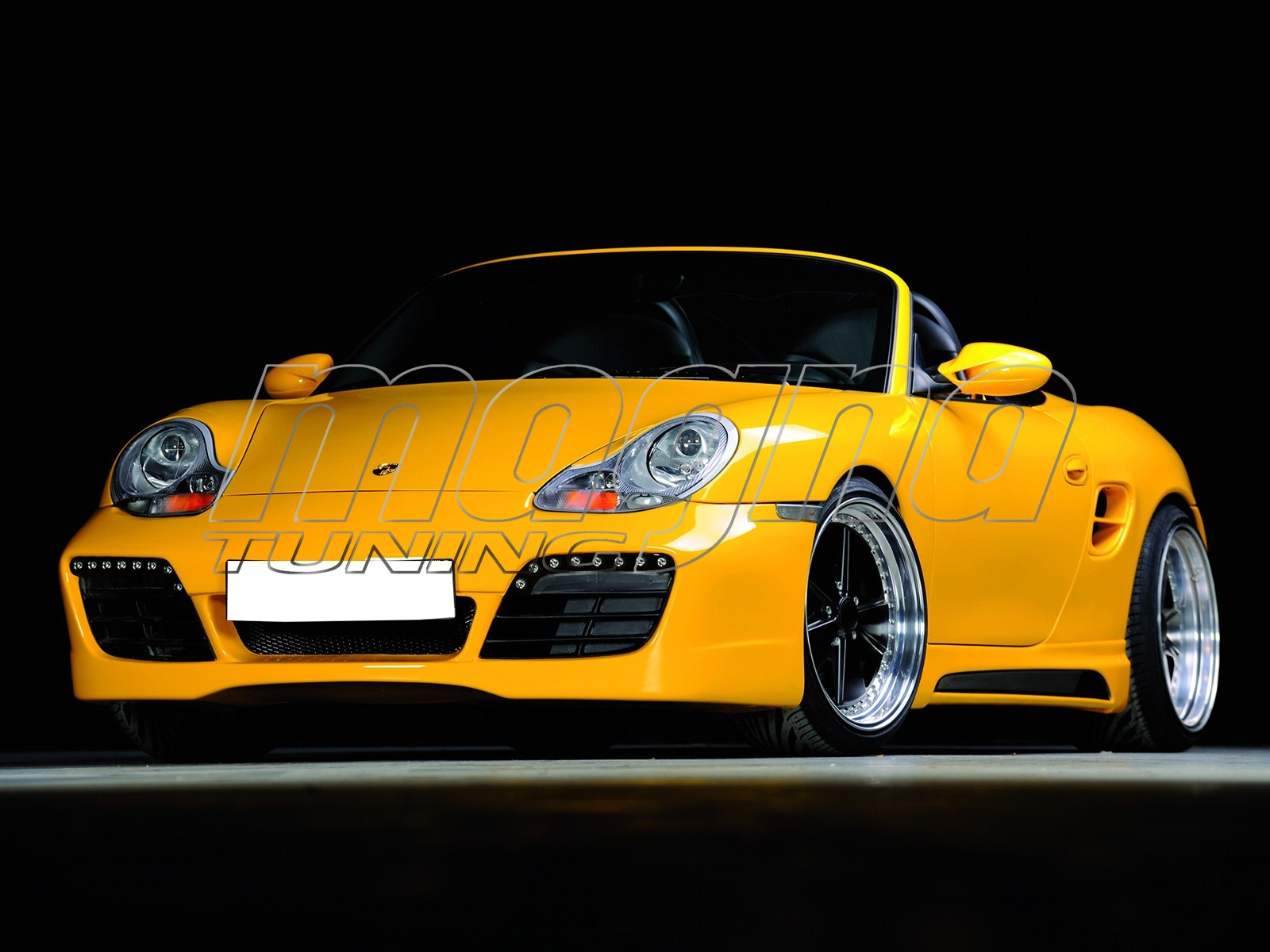Porsche Boxster 986 Body Kit Recto