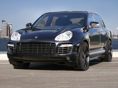 Porsche Cayenne 955 Bara Fata Facelift-Style