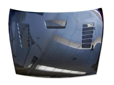 Porsche Cayenne 955 Razor Carbon Fiber Hood