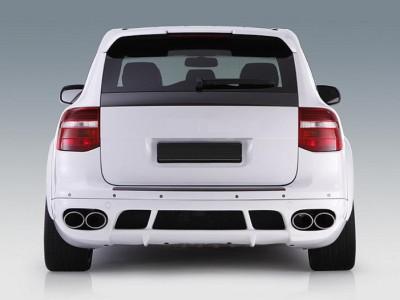 Porsche Cayenne 957 E-Style Rear Bumper Extension