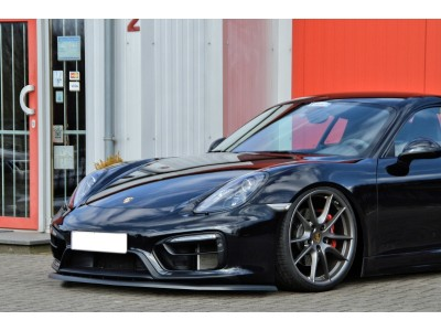 Porsche Cayman 981 Intenso Front Bumper Extension