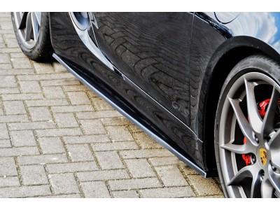 Porsche Cayman 981 Intenso Side Skirt Extensions